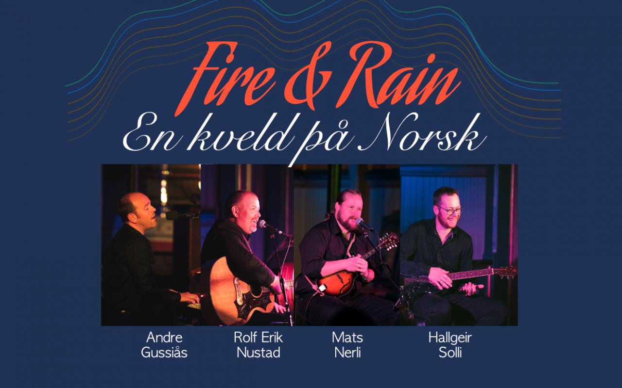 Bilderesultat for fire and rain innset